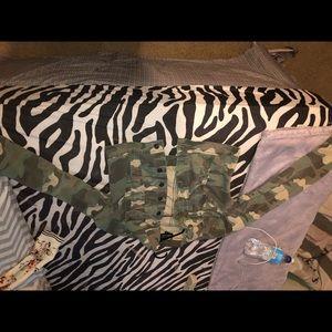 Army fatigue jacket